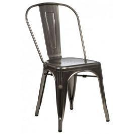 Krzesło Paris metaliczne inspirowa ne Tolix outlet