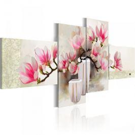 Obraz malowany - Zapach magnolii