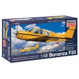 Model plastikowy - Samolot Bonanza F-33 Straight Tail - Minicraft