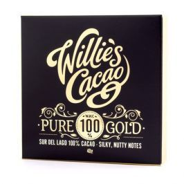 Willie's Cacao - Czekolada 100% - Pure Gold Wenezuela 40g