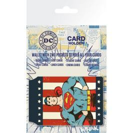 DC Comics Superman Retro - Okładki na Dokumenty i Karty