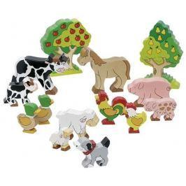 Figurki zwierząt, farma, 14 el.