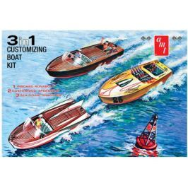 Model plastikowy - Łódź - Customizing Boat (3 w 1!) - AMT