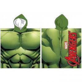 Ponczo Ręcznik z kapturem Marvel Hulk