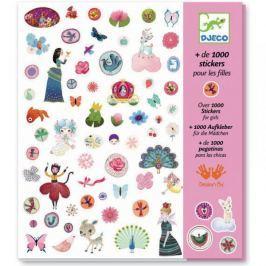 1000 naklejek dla dziewczynek Djeco