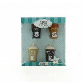 Gumki do mazania – zestaw kawy w kubku