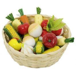 Warzywa w koszyku, 17 elementów