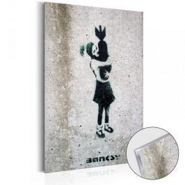 Obraz na szkle akrylowym - Bomb Hugger by Banksy [Glass]