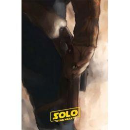 Gwiezdne Wojny - Han Solo - plakat premium