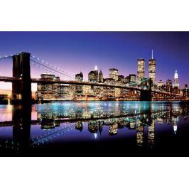 Nowy Jork Brooklyn Bridge Colour - plakat