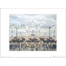 Pip Shuckburgh Horse Guards Parade - plakat premium