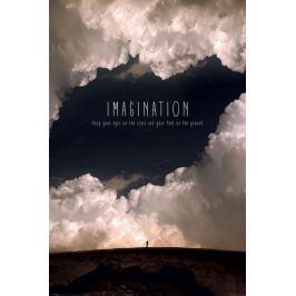 Imagination - plakat motywacyjny