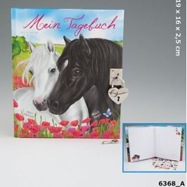 Pamiętnik z konikiem i kłódką Miss Melody 6368