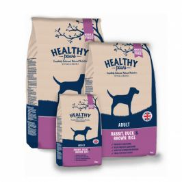 Królik, Kaczka i Brązowy Ryż dla psów dorosłych 12 kg