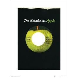 The Beatles Apple - plakat premium