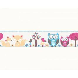 Pasek dekoracyjny Sowy Sówki 94113-2 Esprit Kids 3 Border