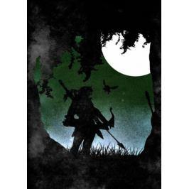 Moonlight Caverns - The Legend of Zelda - plakat