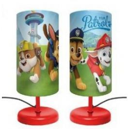 Lampka nocna Psi Patrol  biurkowa PAW red