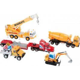 Pełen zestaw pojazdów budowlanych Small Foot