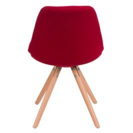 Krzesło Norden Star pikowane czerwon