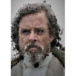 POLYamory - Old Luke Skywalker, Gwiezdne Wojny Star Wars - plakat