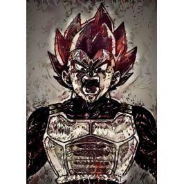 Legends of Bedlam - Vegeta, the Limit Breaker, Dragon Ball - plakat