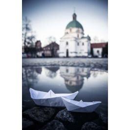 Warszawa Nowe Miasto - plakat premium
