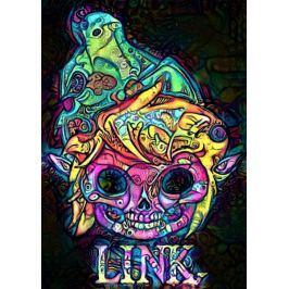 PsychoSkulls, Link, Legend of Zelda Nintendo - plakat