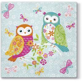Pl Serwetki Magical Owls