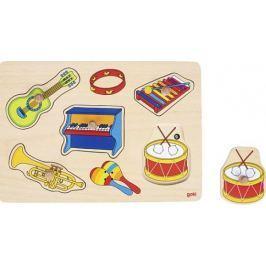 Układanka z instrumentami z dźwiękiem
