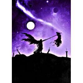Final Fantasy Vintage Poster - plakat