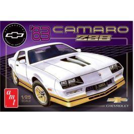 Model plastikowy - Samochód 1983 Chevy Camaro Z-28 (50th Anniversary) 1:25 - AMT