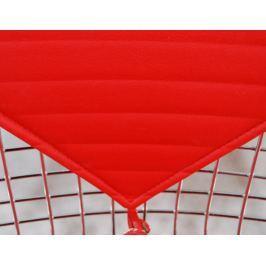 Krzesło Net double czerwona poduszka outlet