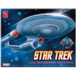 Model Plastikowy Do Sklejania AMT (USA) - Star Trek Enterprise 1701-C