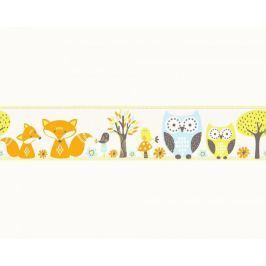 Pasek dekoracyjny Sowy Sówki 94113-1 Esprit Kids 3 Border