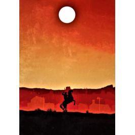 Red Dead Redemption Vintage Poster v2 - plakat