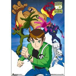 Ben 10 Alien Force Cast - plakat 3D