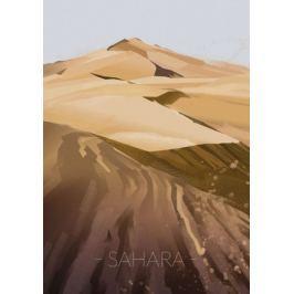 Wydmy Sahara - plakat