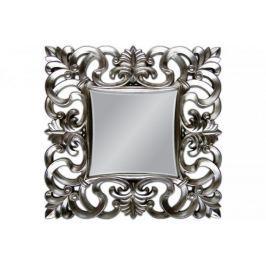 Lustro wiszące Baroque 100x100 srebrny