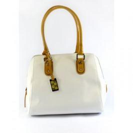 Niepowtarzalna torebka biała Sara Burglar