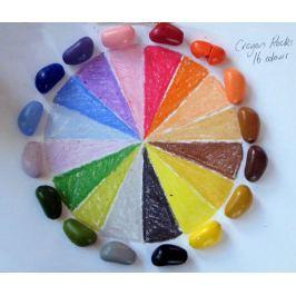 Kredki kamyki Crayon Rocks w bawełnianym woreczku 16szt