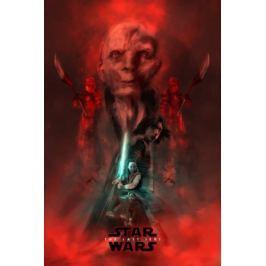 Gwiezdne Wojny – Ostatni Jedi – bohaterowie - plakat premium