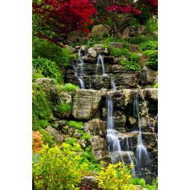 Leśny Wodospad - plakat