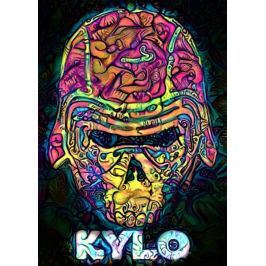 PsychoSkulls, Kylo Ren, Star Wars Gwiezdne Wojny - plakat