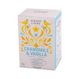 Higher Living Chamomile & Vanilla - herbata - 15 saszetek