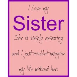 Sister - plakat