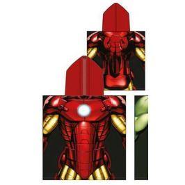 Ponczo Ręcznik z kapturem Marvel Iron Man
