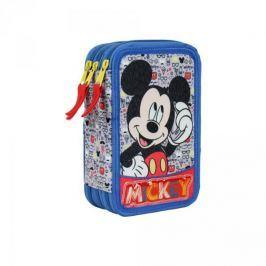 Piórnik potrójny z wyposażeniem Myszka Miki Mickey Mouse Disney