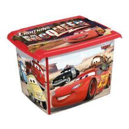 Pudełko 20L Disney Cars AUTA pojemnik na zabawki