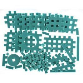 PIANKOWE PUZZLE SENSORYCZNE 115EL. green premium #U1